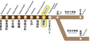 大阪 堺筋線の家具付き賃貸