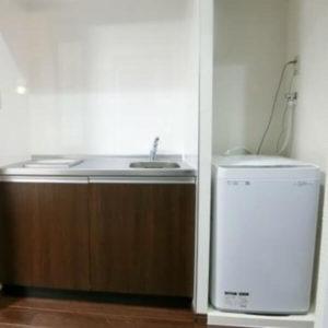 オアーゼ扇町 キッチン・洗濯機
